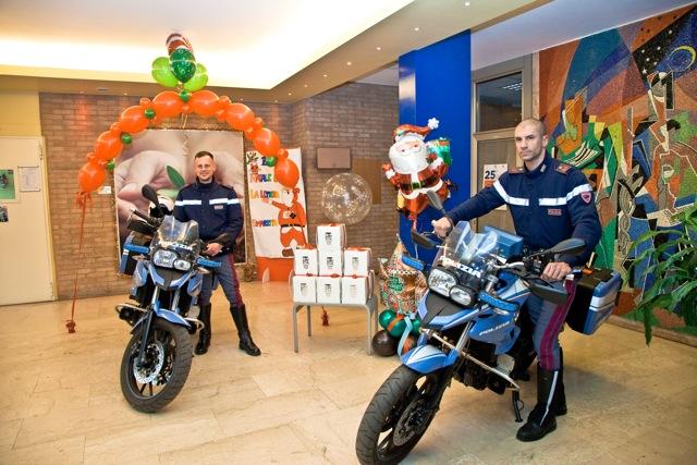 Moto in Pediatria-Polizia di Stato-dicembre 2017